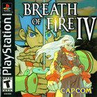 Breath of Fire IV - PS1 (With Book)
