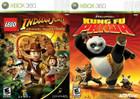 Lego Indiana Jones / Kung Fu Panda - XBOX 360