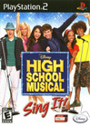 High School Musical - PS2 (Used, With Book)