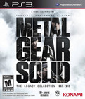 Metal Gear Solid The Legacy Collection 1987-2012 - PS3 (With Book)