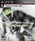 Tom Clancy's Splinter Cell: Blacklist - PS3 (With Book)