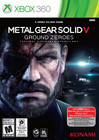 Metal Gear Solid V: Ground Zeroes - XBOX 360 (Used, No Book)