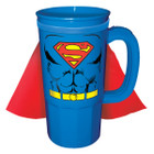 DC Comics Superman Character Caped 22oz. Plastic Stein