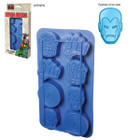 Marvel Heroes Ice Cube Tray (shield, fist, thing, mask)