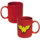 DC Comics Wonder Woman 20oz. Embossed Logo Ceramic Mug