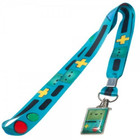 Adventure Time Beemo Lanyard Blue with BMO Metal Tag