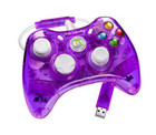 Rock Candy XBOX 360 Wired Controller (Purple) - XBOX 360