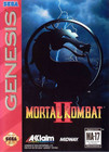 Mortal Kombat II - Genesis (With Box, No Book)