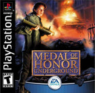 Medal of Honor Underground - PS1 (Used, With Book)