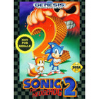 Sonic The Hedgehog 2 - Sega Genesis - (With Box and Book)