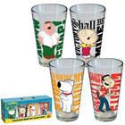 Family Guy Quotes Pint 4-Pack