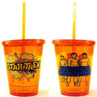 Star Trek Boldly Go Colored Cup With Straw