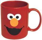 Sesame Street Elmo Big Face Ceramic Mug (Red)