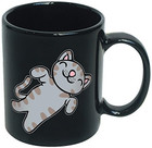 Big Bang Theory Soft Kitty Ceramic Mug (Black)