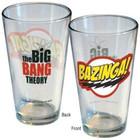 Big Bang Theory Bazinga Pint