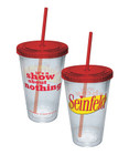Seinfeld It's A Show About Nothing Cup With Straw