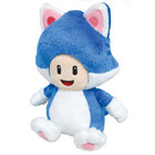 "Blue Cat Toad 6"" Plush"