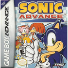 Sonic Advance - GBA (Cartridge Only, Label Wear)