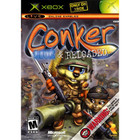 Conker: Live & Reloaded - XBOX (Used, With Book)