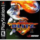 NFL Blitz 2001 - PS1 (Used, With Book)