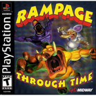 Rampage Through Time - PS1 (Used, No Book)