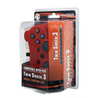 PS3 WIRED CONTROLLER - RED (HYDRA)