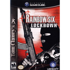 Tom Clancy's Rainbow Six: Lockdown - GameCube (With Book, Label Wear)