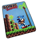 SONIC 16 BIT FLEECE BLANKET