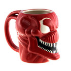 MARVEL CARNAGE MOLDED COFFEE MUG