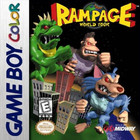 Rampage: World Tour - GBC (Used, With Box and Book)