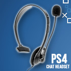 PS4 CHAT HEADSET MICROPHONE BLACK (HYDRA)