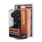 PS2 WIRELESS CONTROLLER - BLACK - HYDRA