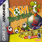 Yoshi Topsy-Turvy - GBA (Used, With Box and Book)