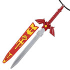 The Legend of Zelda Letter Opener Necklace (Red) Replica