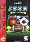 Jeopardy! Sports Edition- Sega Genesis (With Box and Book)