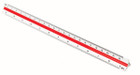 Staedtler Mars Triangular Metric Scale for Engineers - SI