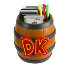 Donkey Kong Barrel Game Card Storage - 2DS / 3DS / 3DS XL