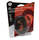 GE USB Micro Charging Cable (High-Quality) - 6 FT