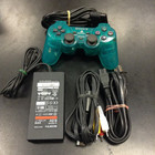 PS2 Slim Accessory Set - (Turquoise, Used)