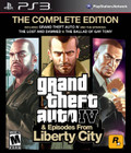 Grand Theft Auto IV: The Complete Edition - PS3 (Used)