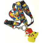 Pokemon Pikachu With Cap Lanyard