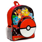 Pokemon Backpack With Pokeball Lunch Bag