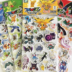 Pokemon XY 3D Pop-Up Stickers