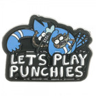 Regular Show Punchies Belt Buckle