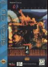 Supreme Warrior - Sega CD (Used, With Box, Book)