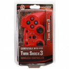 PS3 Wireless Controller Red (HYDRA)