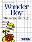 Wonder Boy - Sega Master System (Used, Box, No Book)