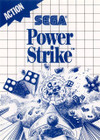 Power Strike - Sega Master System (Used, Box, No Book)