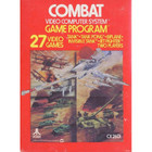 Combat - Atari 2600 (With Box and Book)