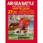 Air-Sea Battle - Atari 2600 (With Box and Book)